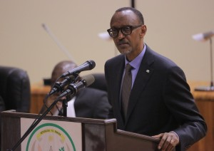 Kagame told regional legislators to help ensure we maintain momentum and stay on course.