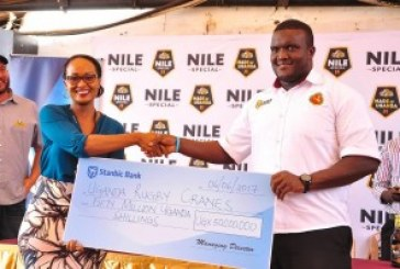 Stanbic gives rugby cranes UGX50 million push