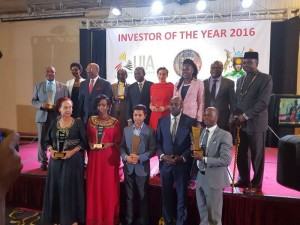 Dr. Rugunda, (top 3rd left) joins the winners
