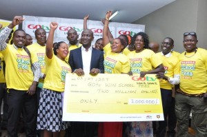 Joyous winners mark the end of the Gotv promotional campaign