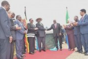 Foundation stone laid for East African pipeline