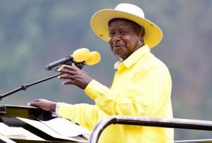 Museveni on the campaign trail
