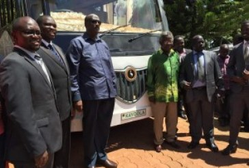 Kayoola Flagged off for UN Expo