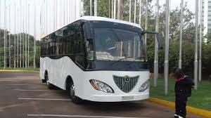 The Kayoola Solar Bus is a zero emissions public transport vehicle
