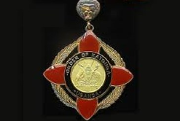 Gaddafi  awarded Uganda's highest military medal