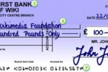 Denmark consigns the bank cheque to history