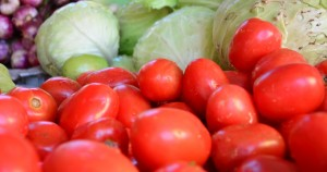 A long dry spell affected vegetable production causing higher prices.