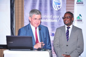 Petit and Okau described the opportunities that will soon become available for Ugandan companies in the Oil and Gas sector.