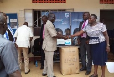 Stanbic staff help out Bukwo General Hospital