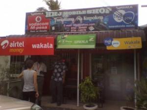Mobil stalls