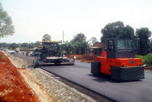 Road construction will cintine