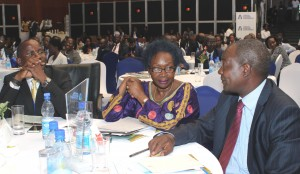Maira Kiwanuka, a former finance minister, was one f the invited gursts