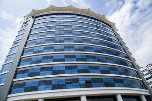 Mukwano's Ubumwe Grand Hotel in Kigali has been re-hatted as a Hilton Double Tree