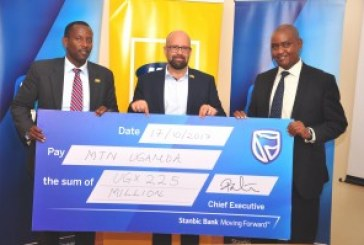 Stanbic Bank hands over hefty cheque for charity run