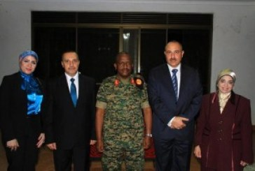 Change of guard at Egyptian Defence Office