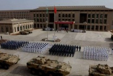 China flexes muscles by inviting Africa's military to Beijing